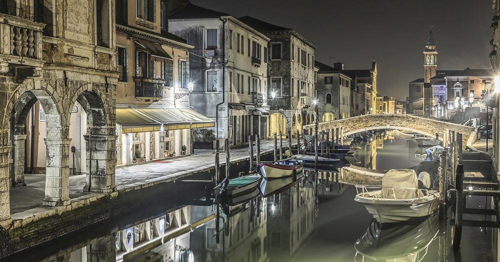 Chioggia - bei Nacht