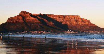 Tafelberg - Sonnenschein auf den Tafelberg