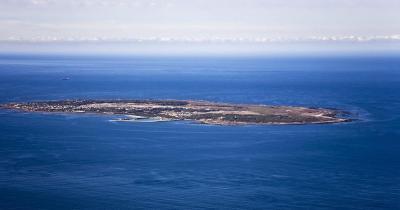 Robben Island - Luftaufnahme