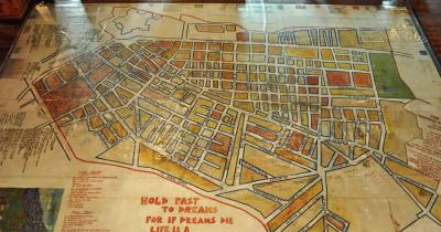 District Six Museum - Stadtplan
