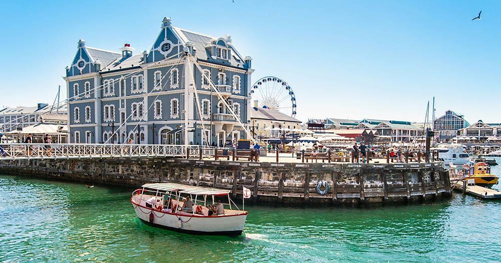 Südafrika - Kapstadt Hafen
