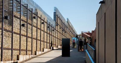 Apartheid Museum - Aussenausstellung
