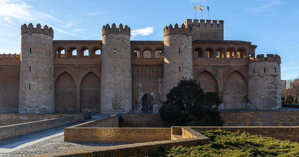 Saragossa - Aljaferia Palast